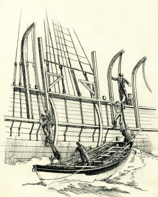 Drawing by John F. Leavitt.  MSM accession number 1990.95.2