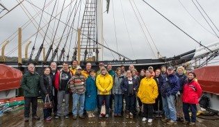 Day 2 of 38th Voyager orientation at Mystic Seaport, April 30, 2014