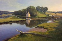 Adkins_Sailing The Sheepscott River