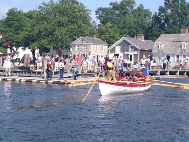 Whaleboat Arrival