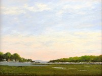 Al Barker- Sheep Pasture, Shaffer's Marina, Mystic