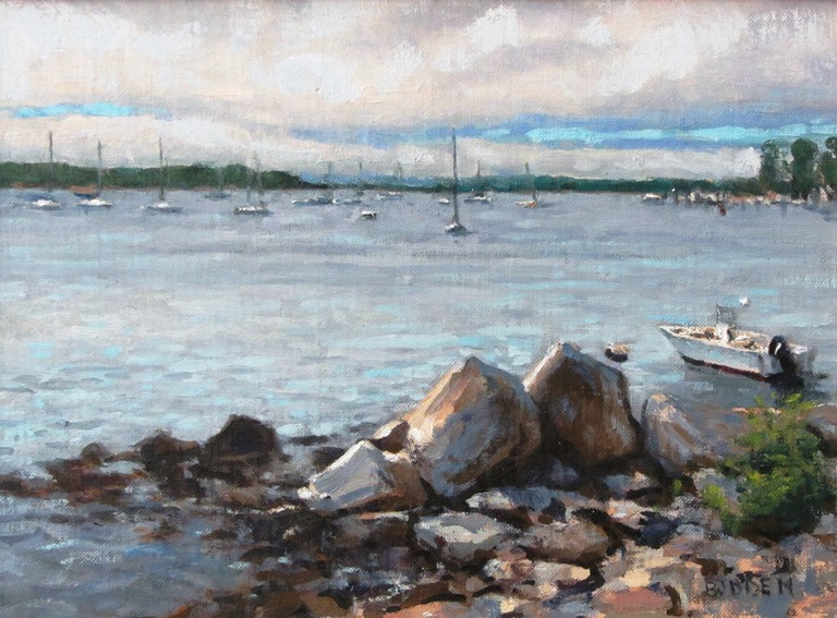 Michael Budden - Morning Clouds Noank