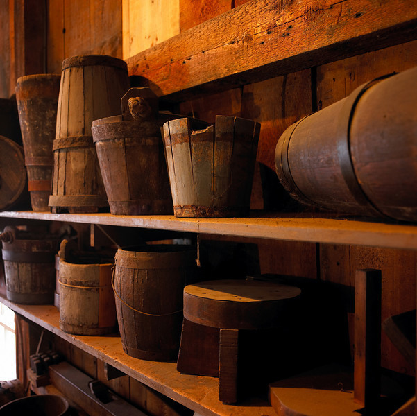 Inside the Mystic Seaport Cooperage