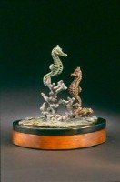 Coral Corral, Pair of Sea Horses - Kim Shaklee