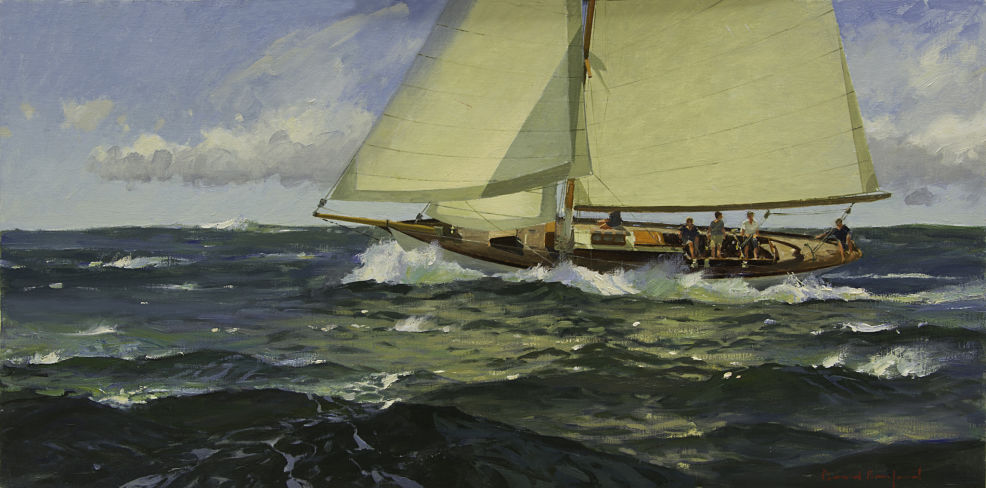 "David Bareford, ""A Fresh Breeze off a Starboard Tack"", Modern Marine Masters 2015"