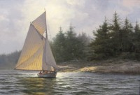 "Don Demers, ""Along a Foggy Shore"""