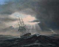 Garnett_Charles W. Morgan Off Cape Horn - December 11, 1841