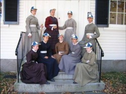 Greenmanville Blue Stockings
