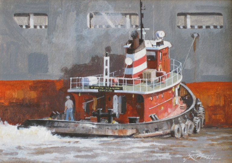 Griffith. Tug Catherine McAllister