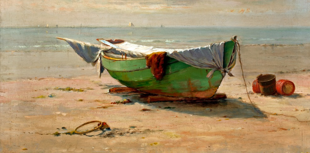 "Over Life's Waters: ""Swampscott Dory"" by William Partridge Burpee"