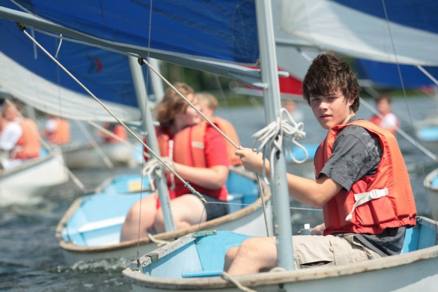 For more than 50 years, young people have come to Mystic Seaport each summer to sail on the Mystic River and sleep on a tall ship. Learning by doing - in a friendly and supportive atmosphere -- is the cornerstone of the Joseph Conrad overnight summer sailing program.