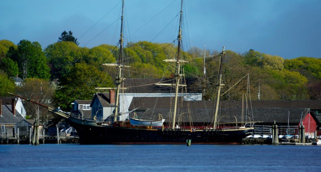 The Joseph Conrad at Mystic Seaport