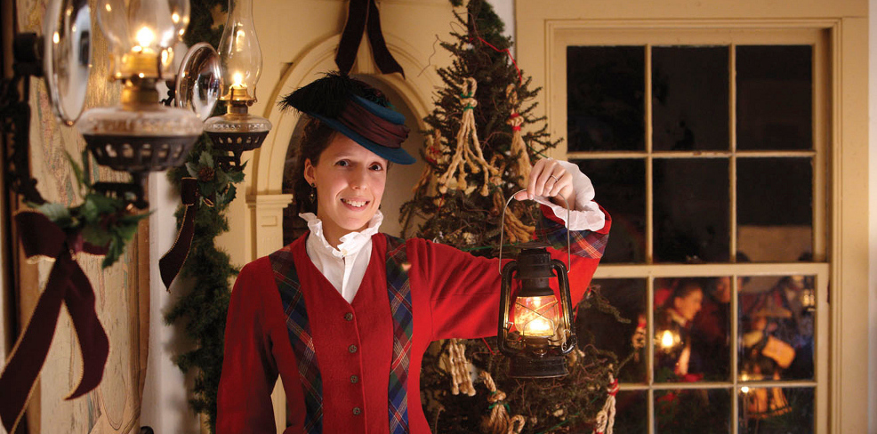 Lantern Light Tours at Mystic Seaport