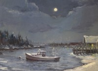 Larsen.NewEnglandWinterMoon