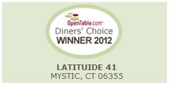 Make an online reservation for Latitude 41