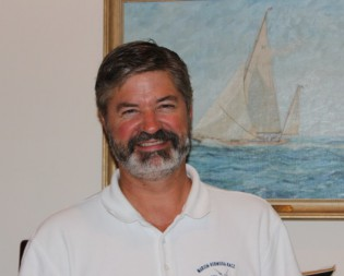 """Author Mark J. Gabrielson will discuss his book """"Deer Isle's Undefeated America's Cup Crews"""" at the February 2014 Maritime Author Series"""