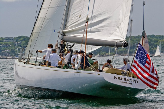 Feel the thrill of competing head-to-head aboard powerful and graceful sailboats in picturesque Newport Harbor in our annual regatta.