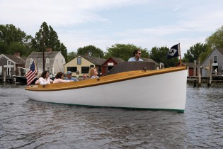 See Mystic Seaport from a different vantage point aboard water shuttle NECESSITY.