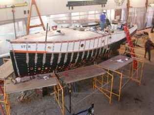 Star undergoing restoration