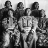 Inuit women photographed on Comer's ship. Clothing shows fabric and beads obtained from the Americans in trade. (Mystic Seaport 1963.1767.235)