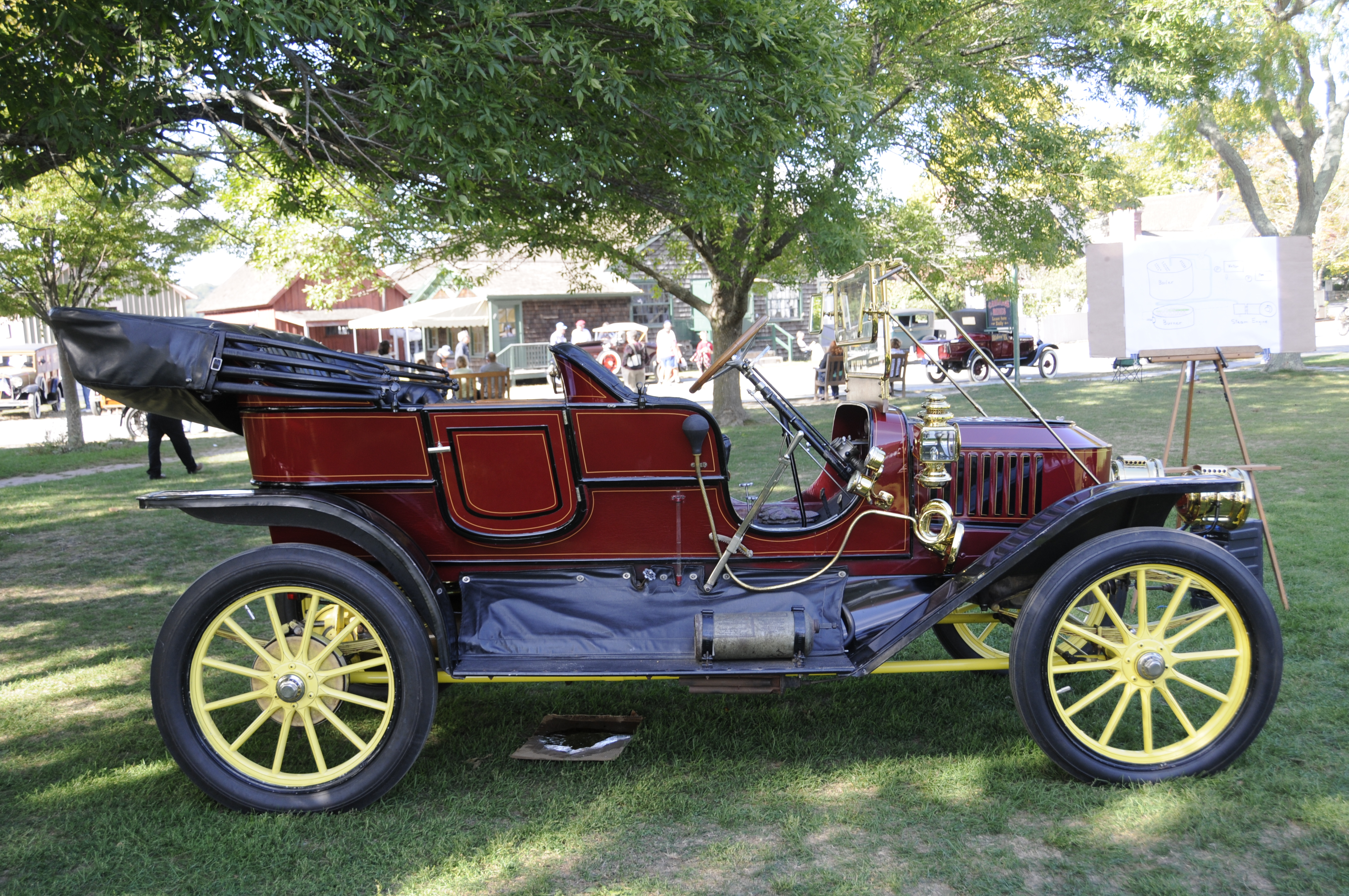 By Land And By Sea Antique Vehicle Show Mystic Seaport