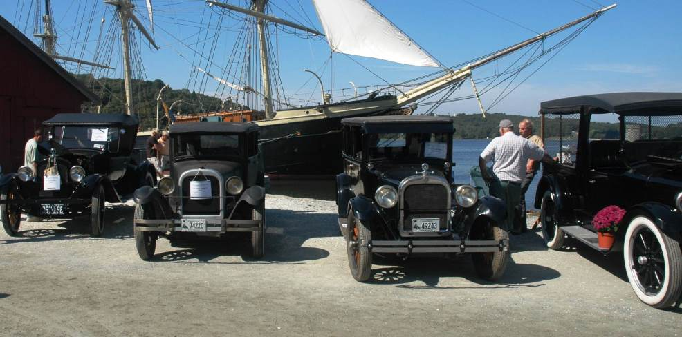 by Land and Sea: The Antique Vehicle Show