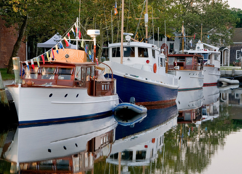 Mystic Seaport will host its Antique & Classic Boat Rendezvous July 26-26. Photo Credit: Mystic Seaport
