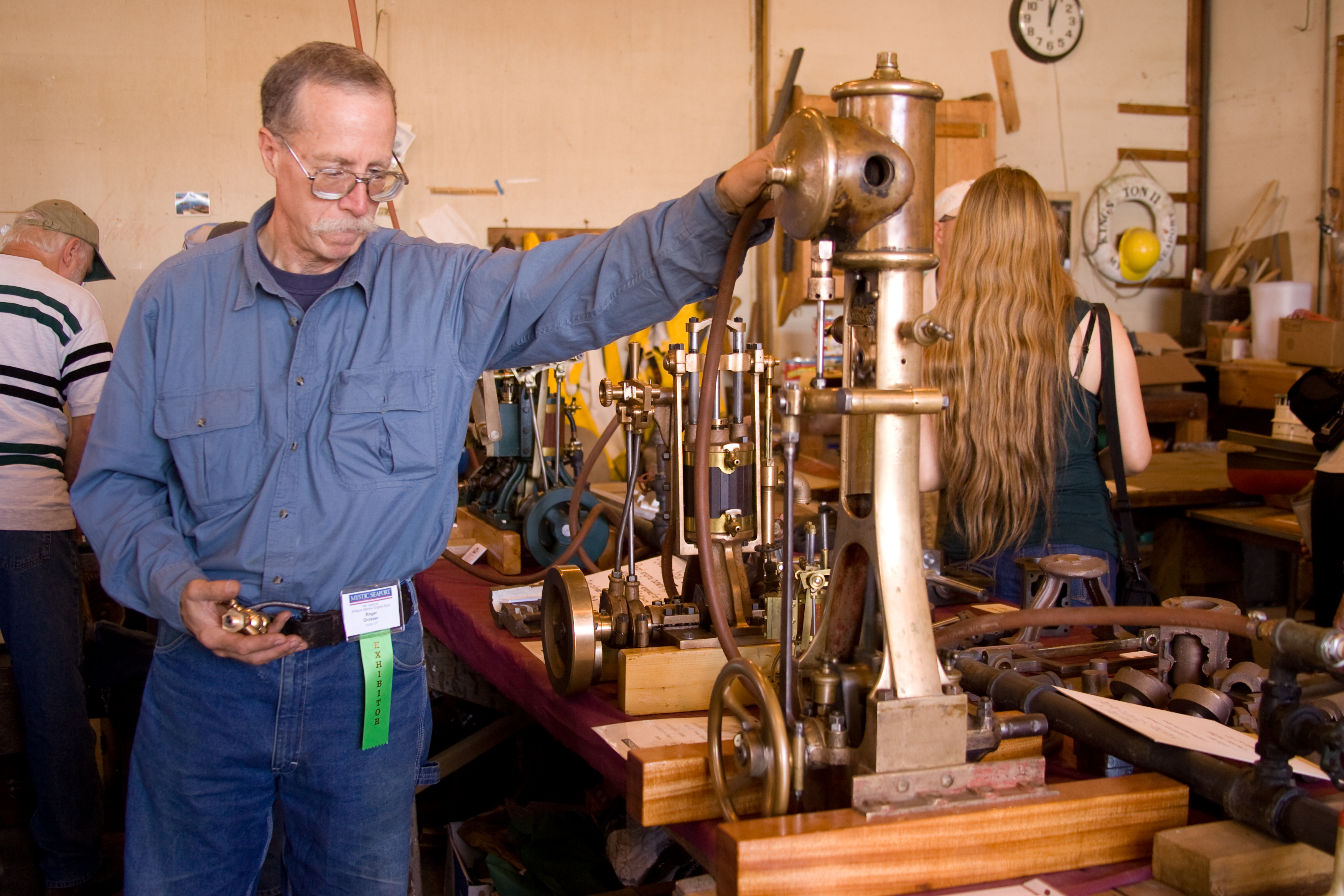 Mystic Seaport to Host Antique Marine Engine Exposition August