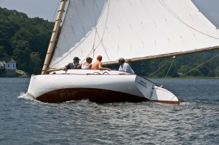Take a sail aboard the Breck Marshall.