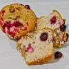 Cranberry Walnut muffin