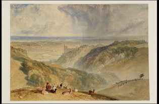 """""""Arundel Castle, on the River Arun,"""" 1824, J .M. W. Turner (1775–1851) Tate: Accepted by the nation as part of the Turner Bequest 1856 ©Tate 2019"""