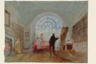"Tate: ""The Artist and His Admirers,"" 1827, J.M.W. Turner (1775-1851) ©Tate, London 2018"