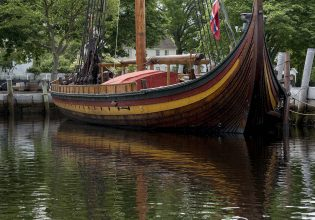 DRAKEN at Mystic Seaport May 2017. Photo by Andy price/Mystic Seaport.