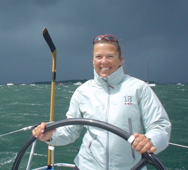 Mystic Seaport will present its 2018 America and the Sea Award to Dawn Riley and Oakcliff Sailing. The prestigious award recognizes those individuals and organizations whose extraordinary achievements in the world of maritime exploration, competition, scholarship, and design best exemplify the American character.