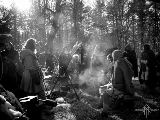 Draugar Vinlands is a historical reenactment and living history group based out of Exeter, New Hampshire that is dedicated to the accurate portrayal of combat and culture during viking-age Scandinavia. They will create an encampment on the Museum's Village Green during Viking Days. Photo: Draugar Vinlands