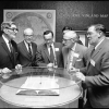 The first time many scholars and experts got a chance to see the Vinland Map in person was in 1966 at a Smithsonian conference. Photo courtesy Smithsonian Institution Archives