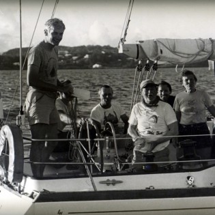 Crew of Puritan, 1986 Newport Bermuda Race