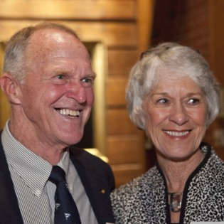Brian and Mary Alice O'Neill, 2011 Far Horizon Trophy recipients