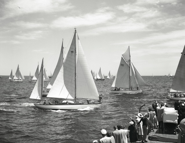 Start of 1950 Bermuda Race