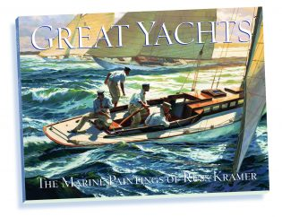 Image result for Great Yachts: The Maritime Paintings of Russ Kramer Book