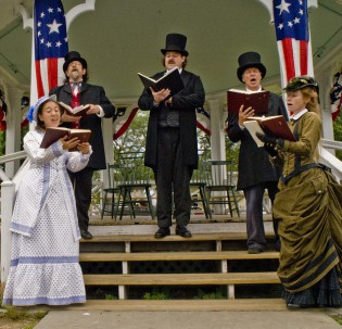Celebrate an 1876 Fourth of July at Mystic Seaport.