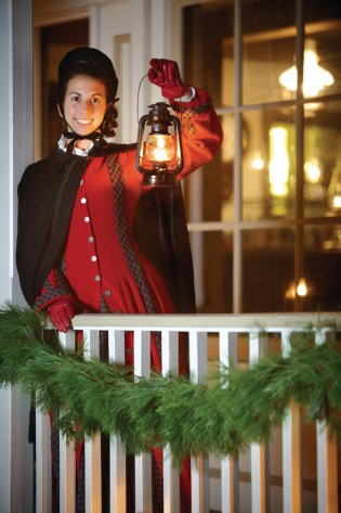 Lantern Light Tours at Mystic Seaport Museum. Photo Credit: Mystic Seaport Museum