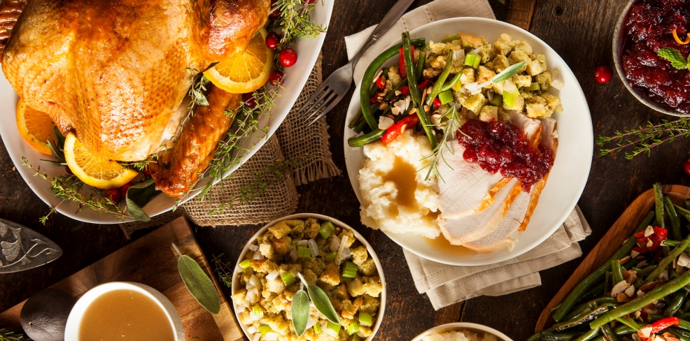 Thanksgiving Day Buffet at Latitude 41° Restaurant