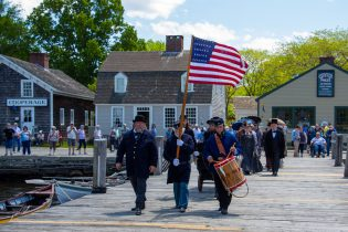Decoration Day at Mystic Seaport Museum