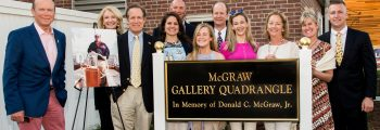 McGraw Quad Dedication