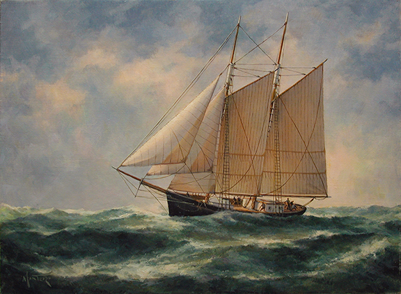Maritime Paintings at Spicer Mansion